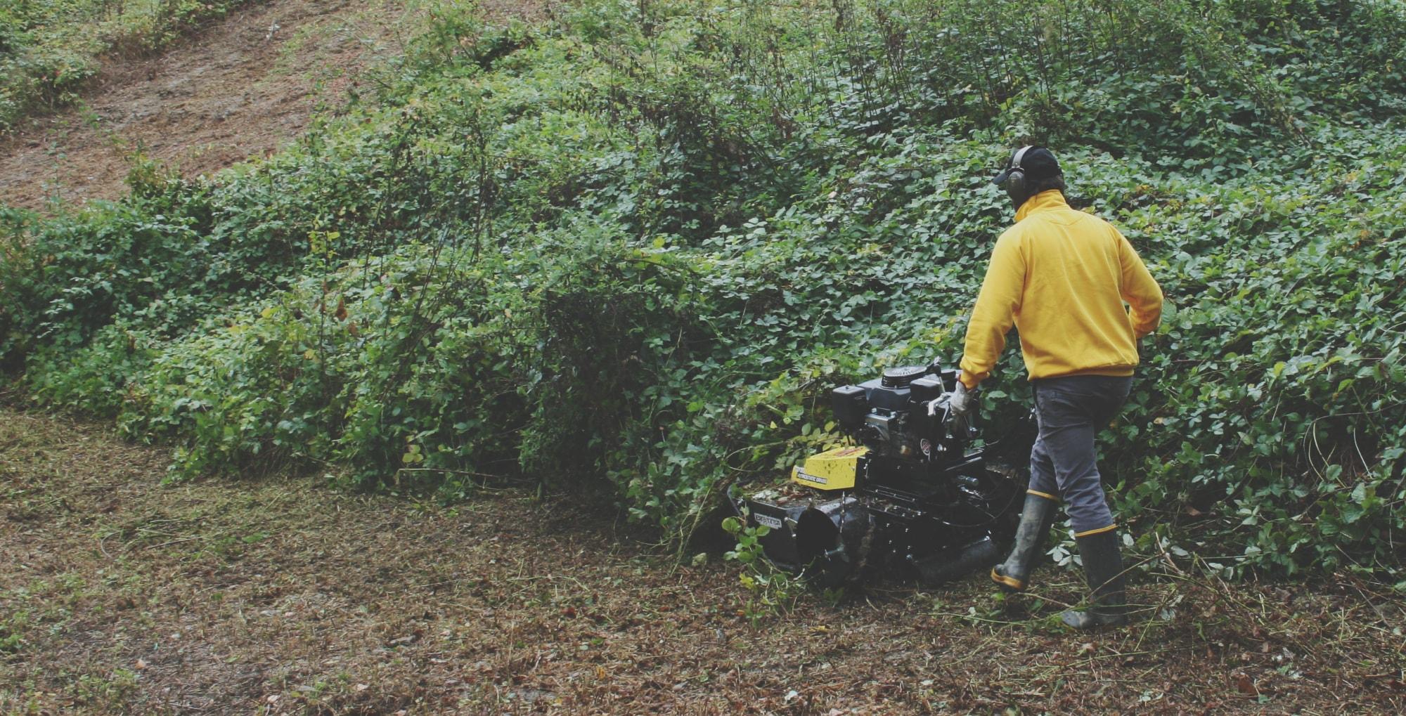 Maquinaria de jardinería Ecotech Ibérica