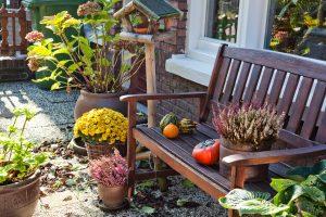 Macetas para decoración de jardines exteriores