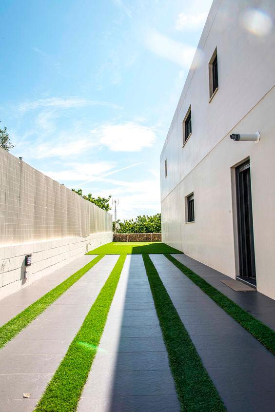 diseño de jardines minimalistas